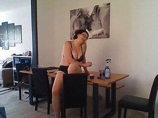 porno fotka - Brunette;Mature;Nipples;Nylon;Tattoo;Big Tits;Big Ass;Pussy;Hand;HD Videos